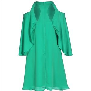 Halston Heritage Dresses - Halston Cold Shoulder Mini Dress sz 0